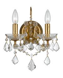 Crystal Candle Sconce Designer Sconces At Neiman Marcus