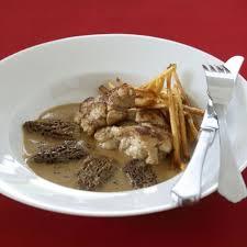cuisiner le veau marmiton recette vidéo ris de veau à la crème et aux morilles 03 12 2008