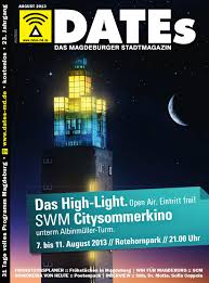Carl Miller Bad Magdeburg Dates Magdeburg Juli 2013 By Dates Medien Verlag Gmbh Issuu