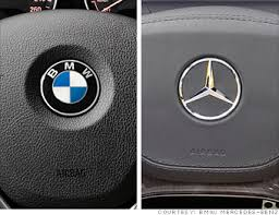 bmw vs mercedes mercedes vs bmw big fight small cars beemer or 1