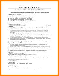 Pharmacist Skills Resume 8 Entry Level Pharmacy Technician Resume Biodata Samples