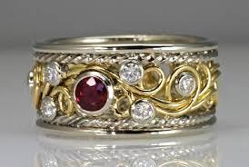 artisan wedding rings swirl ring photo gallery by artist todd alan