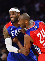 kobe bryant lebron james lead 2014 nba all star game starters