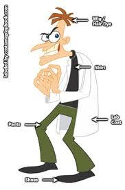 Phineas Halloween Costume Dr Heinz Doofenshmirtz Costume Phineas Ferb Costumes