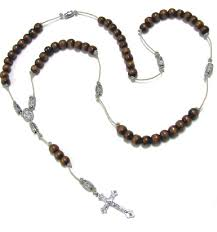 diy rosary diy rosary prayer wood kit free shipping ebay
