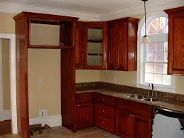 plywood prestige shaker door walnut upper corner kitchen cabinet