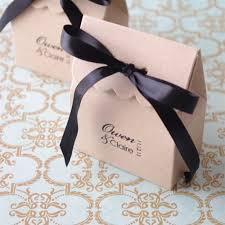 favor boxes for wedding eco friendly kraft monogram scalloped favor bag wedding favor