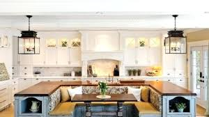 Kitchen Island With Built In Seating Staggering Kitchen Island With Built In Seating The Most Large
