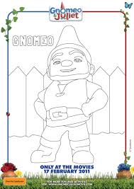 gnomeo juliet disney coloring pages picture