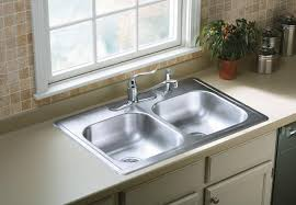 Sterling X Stainless Steel PROF Dropin Double Bowl - Kitchen basin sinks