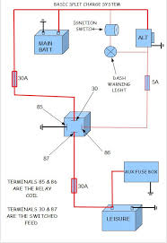 leisure battery wiring diagram needed please the split screen