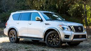 old nissan truck tested 2017 nissan armada 4x4 outside online