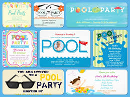 teen pool party invitations backyard design ideas