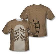 Rigby Halloween Costume Regular Show Rigby Hamboning Sublimation Print Youth Shirt