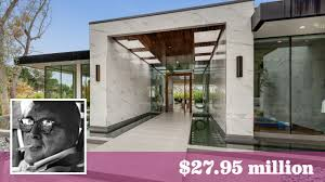 28 million spec house honors former trousdale estate of rat pack