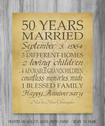 40th anniversary gifts for parents anniversary gifts for parents personalized anniversary gift for
