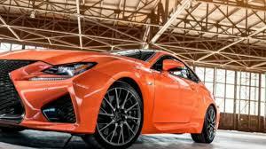 lexus rcf coupe orange lexus rc f orange sport youtube