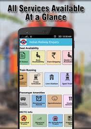 indian railway apk indian railways enquiry irctc apk free travel local