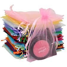 gift bags tojwi 50pcs organza bags mix color 3 54 x4 33