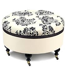 ottomans creative living round outdoor pouf ottoman green mint