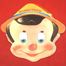 pinocchio mask masks free printable