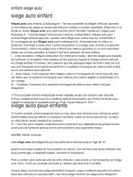 siege enfant obligatoire enfant siege auto 20130203 031846