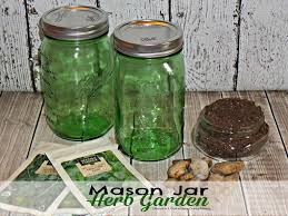 create your very own herb garden in a mason jar diy project 2