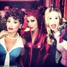 Latex Halloween Costume Jennifer Lopez 45 Slips Red Latex Devil