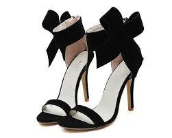 ribbon heels backorder ribbon heels in black lbrlabel