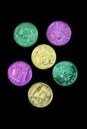 doubloon mardi gras mardi gras doubloons and coins great parade throws