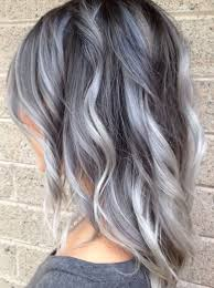 coloring gray hair with highlights hair highlights for image result for transition to grey hair with highlights haircut