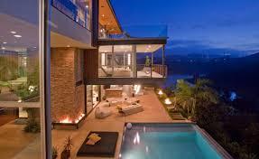 cantilevered deck hollywood cantilevered deck interior design ideas