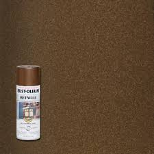 black light spray paint home depot rust oleum stops rust 11 oz vintage metallic dark copper protective