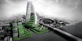 no render quick daytime illustration visualizing architecture