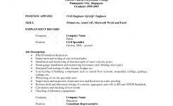ideas of sample resume for freshers engineers computer science for