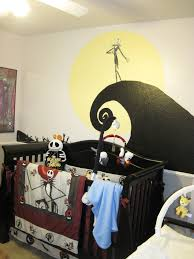 Jack Skellington Home Decor Nightmare Before Christmas Bedroom Wallpaper Party Ideas Lynlees