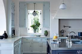 blue base kitchen cabinets painted kitchen cabinet ideas architectural digest