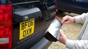 discovery land rover back land rover discovery 3 rear door light housing cover youtube