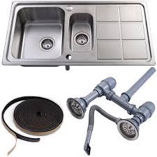 Kitchen Sink Plumbing Kit Kitchen Idea - Kitchen sink plumbing kit
