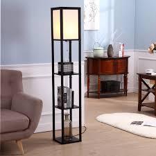 cool shelf floor lamp u2014 best home decor ideas triple shelf floor