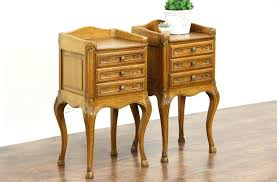 unfinished bedside table unfinished wood nightstand night stands