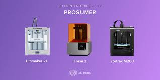 3d hubs printer guide this years top printers prosumer winners
