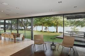 Inside Peninsula Home Design by Gorgeous Lakeside Contemporary Asks 10 3m Curbed Austin
