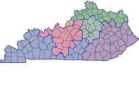 Ky Map Ky 1st Bluegrass Politics