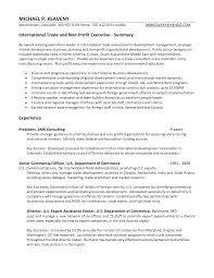 International Business Resume Sample by International Business Resume Sample Free Resume Example And