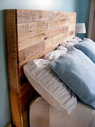 Pallet Wood Headboard Adorable Wood Pallet Headboard Best Ideas About Wood Pallet