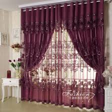 Living Room Curtains With Valance by Decorating Elegant Interior Home Decorating With Luxury Purple