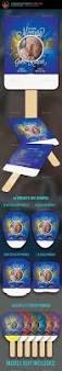 Paddle Fan Program Template Vintage Funeral Paddle Fan Template Funeral Fans And Print