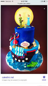 210 best disney u0027s peter pan cakes images on pinterest peter pan