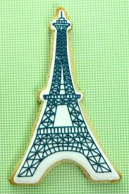 Eiffel Tower Ornaments How To Make Eiffel Tower Cookies Tutorial The Tomkat Studio Blog